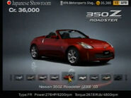 Nissan 350Z Roadster (Z33, US) '03