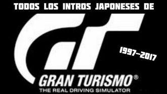 Todos los intros japoneses de Gran Turismo (1997-2017)