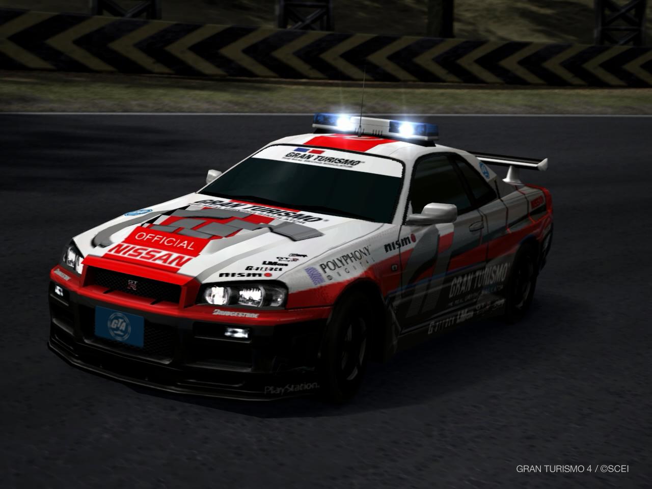 Turismo Car: Nissan GRAN TURISMO SKYLINE GT-R (PaceCar) '01