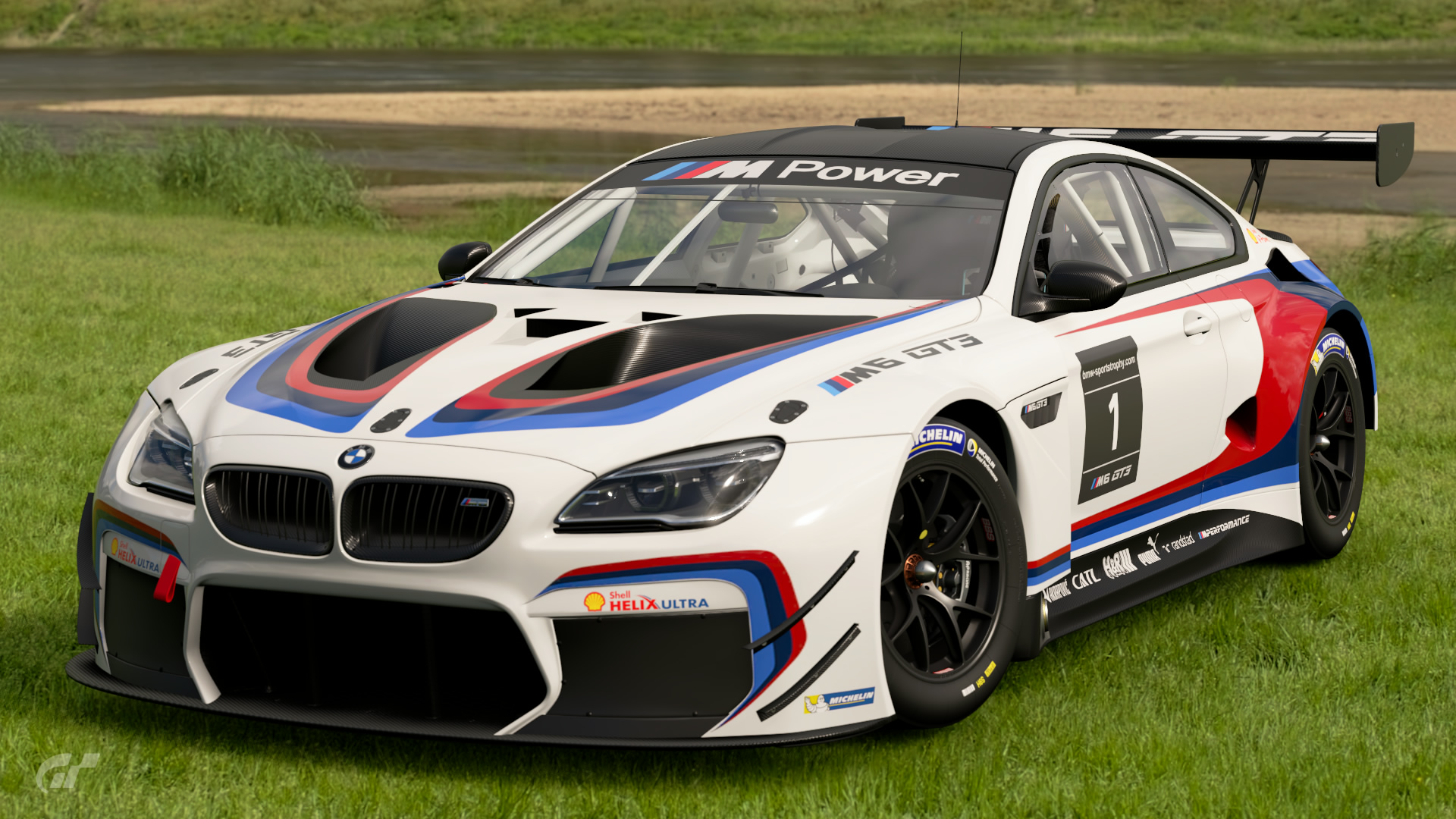 bmw m6 gt3 m power livery 39 16 gran turismo wiki fandom powered by wikia. Black Bedroom Furniture Sets. Home Design Ideas