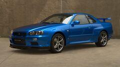 Nissan SKYLINE GT-R V-spec II Nür (R34) '02