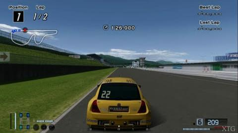 Gran Turismo 4 - Clio Renault Sport Trophy V6 24V Race Car HD PS2 Gameplay