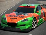Mazda RX-8 Concept LM Race Car
