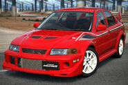 Mitsubishi Lancer Evolution VI GSR T.M. EDITION Special Color Package '99 (GT5)