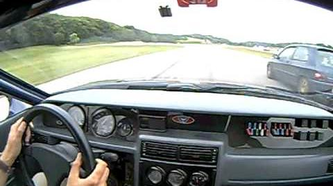 Venturi 400 GT Lap Run
