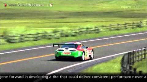 GT5 - Toyota Castrol TOM'S SUPRA (JGTC) '01