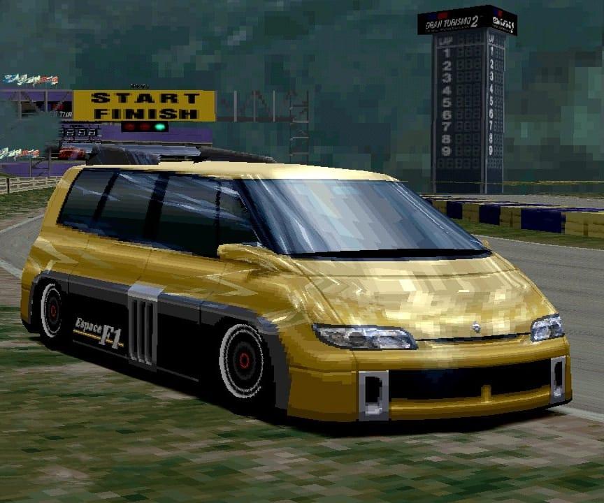 Renault f1 minivan
