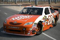 2010 Joey Logano ♯20 The Home Depot TOYOTA CAMRY '10