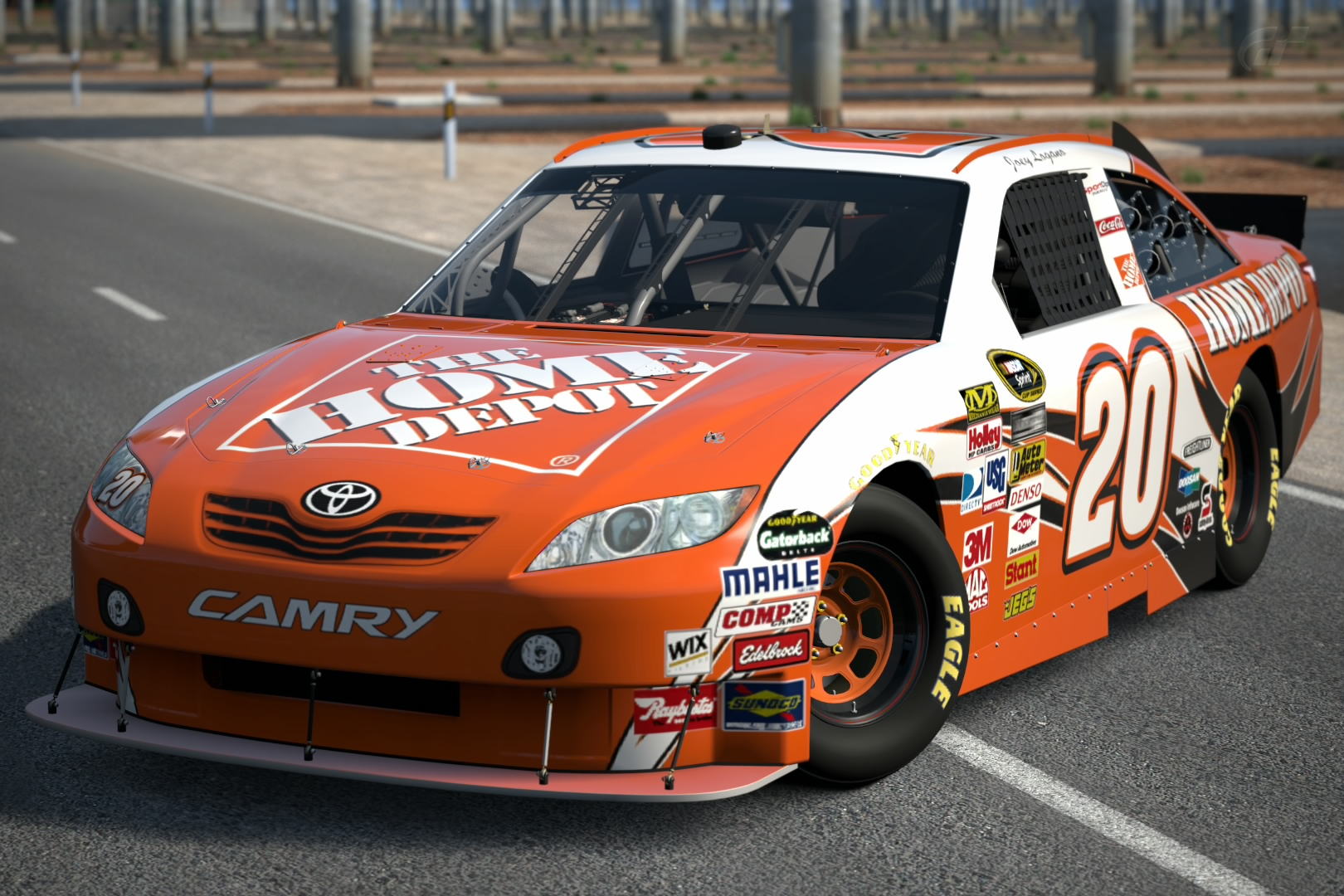 Joey Logano  E  Af The Home Depot Toyota Camry