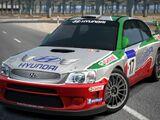 Hyundai Accent Rally Car '01