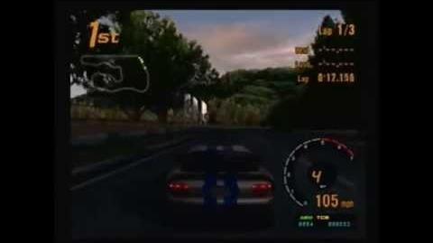 Gran Turismo 3 - Dodge Viper GTS - Deep Forest Raceway II