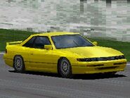 Nissan SILVIA Q's (S13) '88 (Special Color)