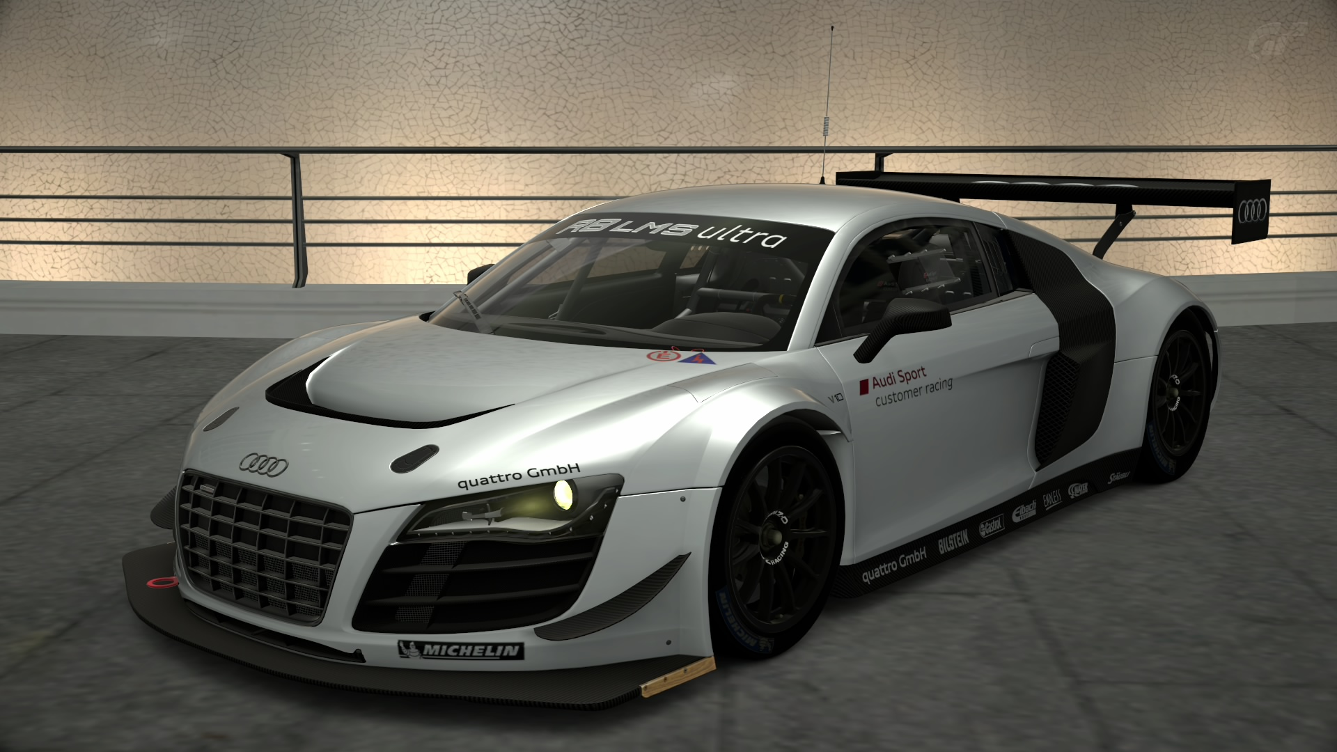 audi r8 lms race car gran turismo wiki fandom. Black Bedroom Furniture Sets. Home Design Ideas