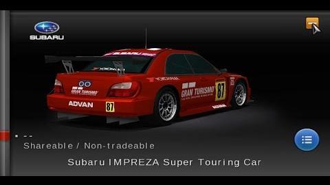 Gran Turismo PSP - Subaru IMPREZA Super Touring Car