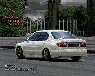 Nissan Primera '98 (Rear)