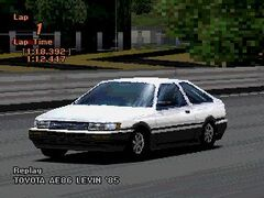 Toyota COROLLA LEVIN GT-APEX (AE86) '85