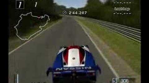 Gran Turismo 4 - Nissan R89C Race Car @ Nurburgring
