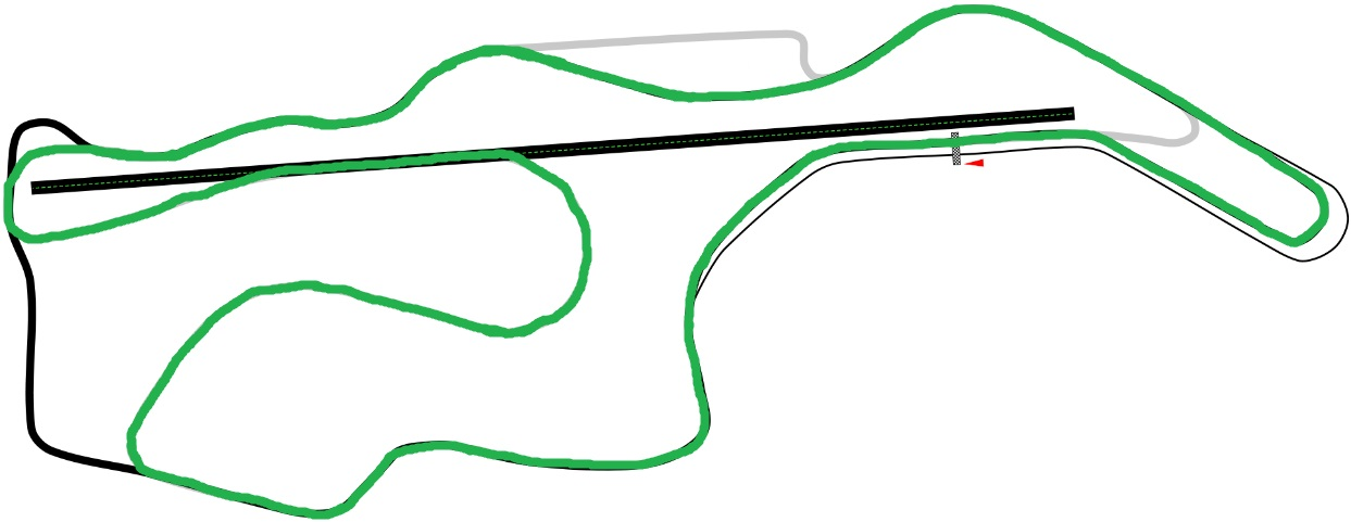 Infineon Raceway Hybrid Course (Sports Car Side)