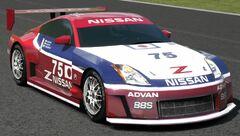 Nissan 350Z Concept LM Race Car (GT5)