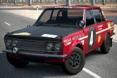 Nissan BLUEBIRD Rally Car (510) '69