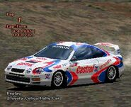 Toyota CELICA GT-FOUR Rally Car (ST205) '95 (GT2)