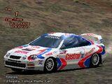 Toyota Celica Rally Car (ST205)