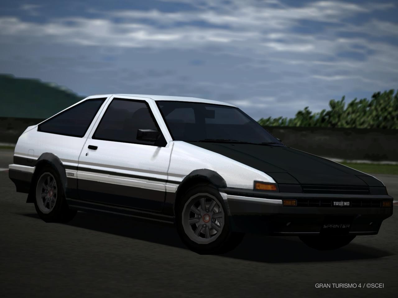 Toyota SPRINTER TRUENO GT APEX (AE86 Shuichi Shigeno Version) U002700