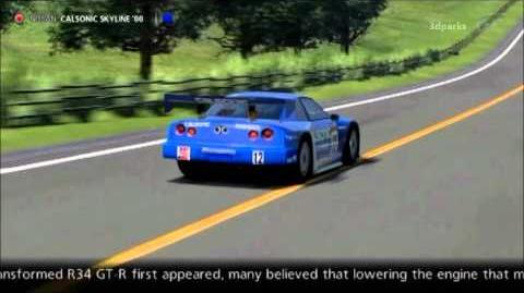 Nissan CALSONIC SKYLINE (JGTC) '00