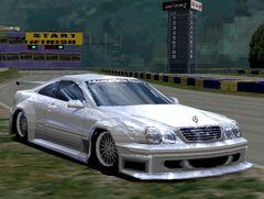 Mercedes-Benz CLK Race Car (NTSC-J)