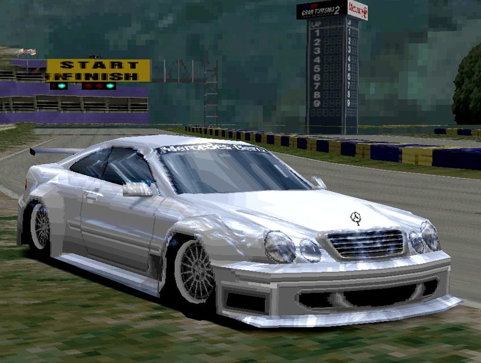 Mercedes Benz Clk Race Car