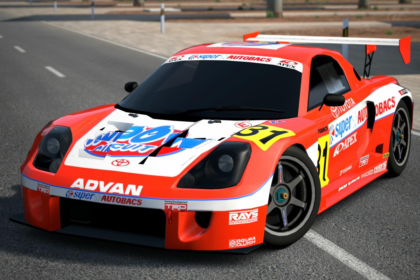 Toyota Superautobacs Apex Mr S Jgtc 00