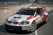 Mitsubishi Lancer Evolution Super Rally Car '03 (PS3)
