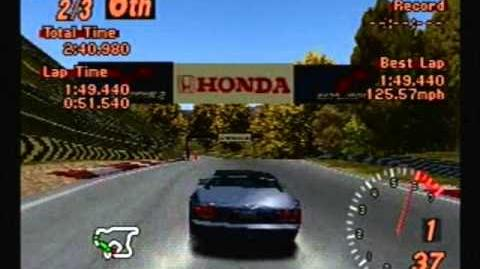 Gran Turismo 2 - Dodge Viper RT 10 - Autumn Ring