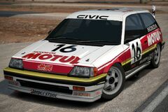Honda MUGEN MOTUL CIVIC Si Race Car '87