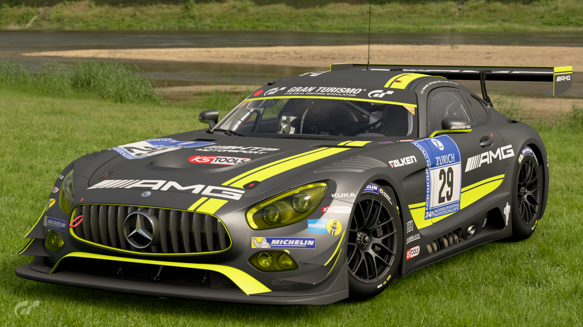 mercedes amg gt3 amg team htp motorsport 39 16 gran turismo wiki fandom powered by wikia. Black Bedroom Furniture Sets. Home Design Ideas
