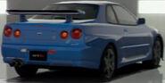 Nissan SKYLINE GT-R M • spec Nür (R34) '02 (Back)