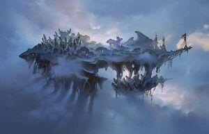Mist-Shrouded Isle Large