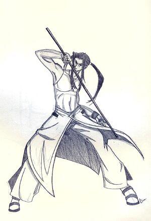 Lance by Nasakebukai Samurai