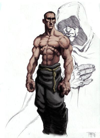 Monk Assassin by SOLIDToM