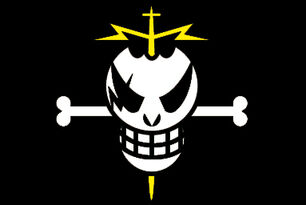 Laxus jolly roger by zoleck-d68q59k