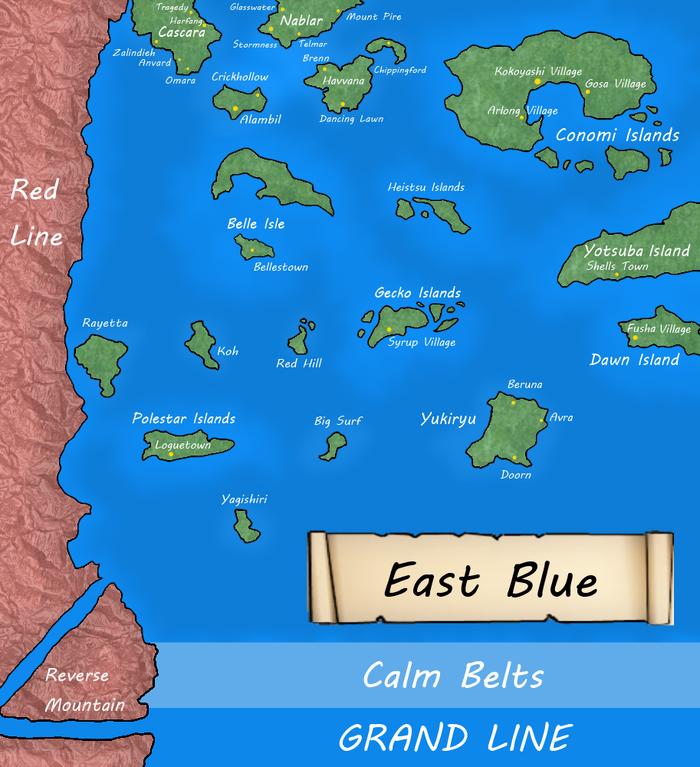 EastBlueMap