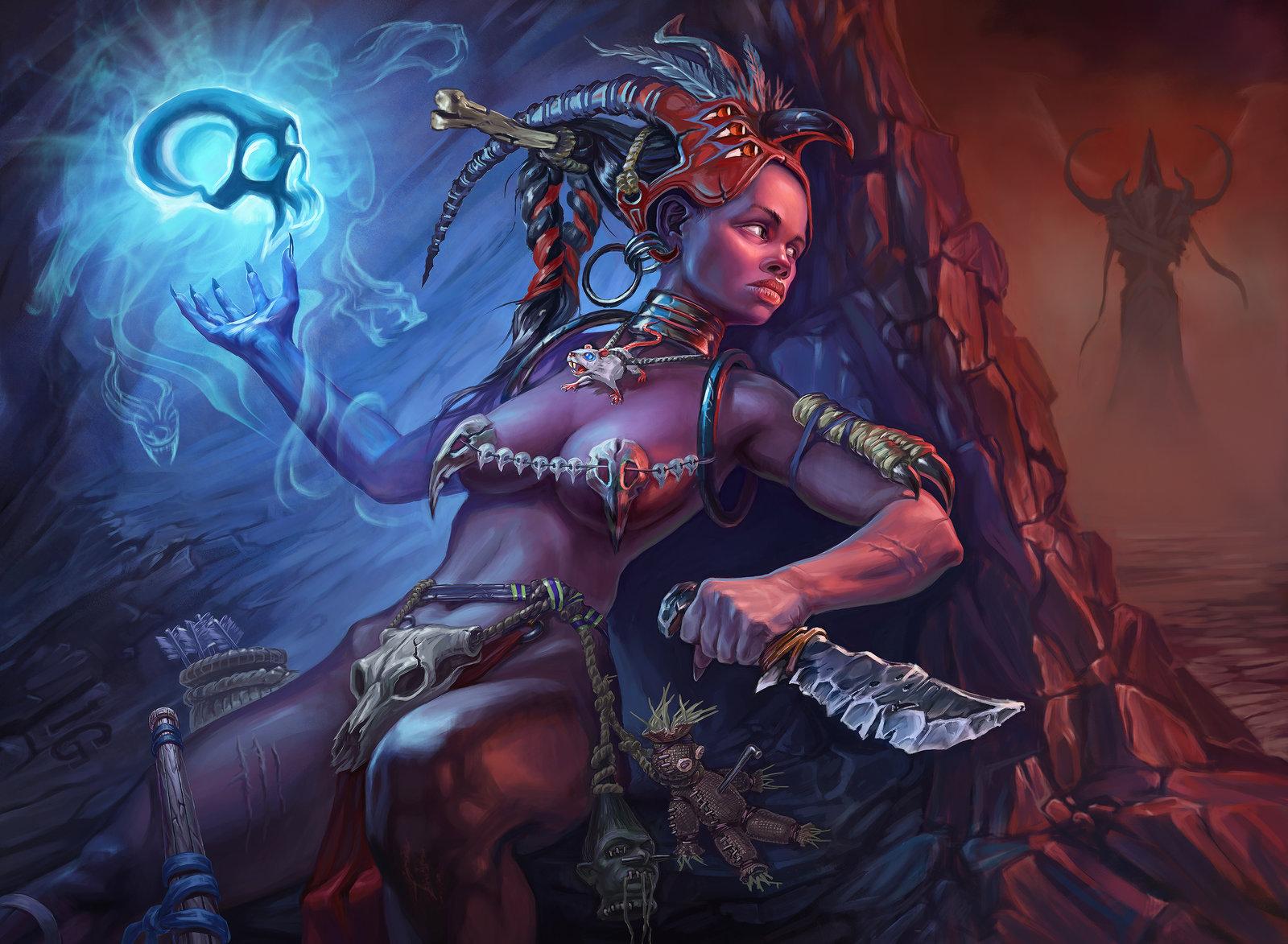 Witch Doctor Ruhi Grand Line Roleplay Wiki Fandom