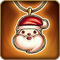圣诞老公公项链1 m