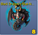 B dragon blue