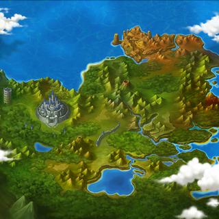 Mapa de Serdin sem Ícones