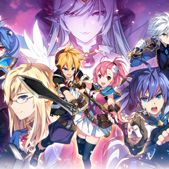 Promotional artwork by RESS to promote the Japanese server.