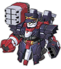 Black Comet Mecha Rocco
