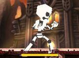 Guerreiro Esqueleto (Ruínas de Prata)