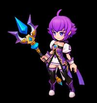 Violet Mage Arme