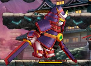 Samurai Esqueleto
